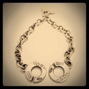 Vintage Tiffany & Co Double Toggle Clasp Bracelet